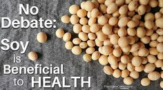 There's no debate: Soy is beneficial to your health. Soy products have been shown beneficial for lung cancer prevention and survival, prostate cancer prevention, heart health and diabetes, bone health, inflammation, and hot flashes, among other conditions.