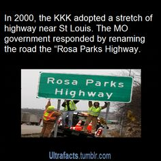 Rosa Parks Highway near St Louis, MO
