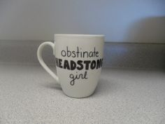Obstinate Headstrong Girl. Pride and Prejudice by fallsliketherain, $12.50