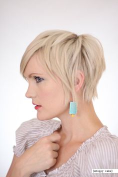 Blonde color are trendy all the time. But blonde with pixie cut is glamorous, fun and sophisticated. We have gathered 15 Best Short Blonde Pixie Haircuts for. Stylish Short Haircuts, Short Hairstyles For Thick Hair, Haircuts For Fine Hair, Haircut For Thick Hair, Short Pixie Haircuts, Short Hair Cuts, Short Hair Styles, Pixie Cuts, Pixie Styles