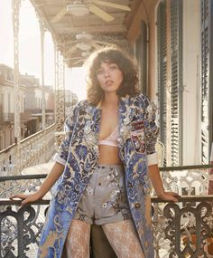 New Orleans, Mon Amour: Steffy Argelich by Yelena Yemchuk for ELLE US september 2016 New Orleans Fashion, Fawn Colour, Elle Us, Dressing Sense, Img Models, Elle Magazine, Fashion Tips For Women, Fashion Ideas, Photo Shoot