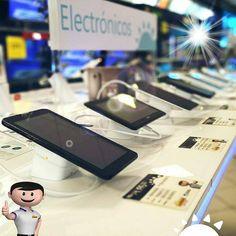 Nos llegaron nuevos modelos de tablet y celulares que puedes llevarte con #MiniCuotas Quieres una?