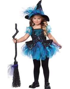 Toddler Girls Darling Little Witch Costume - Party City
