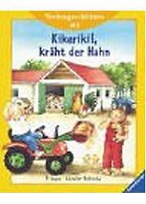 Vorlesegeschichten ab 2. Kikeriki!, kräht der Hahn - Anne-Marie Frisque