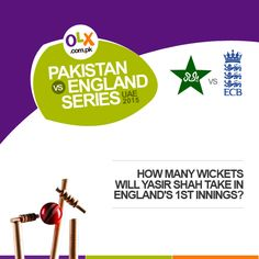 PakVsEngland 3rd Test Match Sharjah: Are you watching the Pak Vs England test match today? Current Score Updates: England is 285/6 in 120.3 overs.   Let's hope Yasir Shah gets more wickets!  #OLXPakistan #PakVsEnglandSeries2015UAE #UAE #BechDe