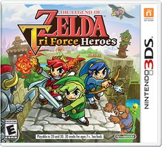 The Legend of Zelda: Tri Force Heroes - updated boxart