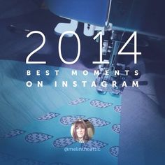 melintheattic's photo: My year in quilts on IG. Now I can't wait to do my annual blog roundup.