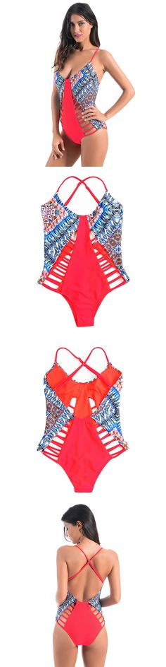 2017 Bandage Swimwear Female One Piece Swimsuit Swimwear Women One Piece Bathing Suits Swimming Suit For Women Trikini
