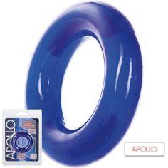 Anillo Pene Apollo  Anillo elástico potenciador para una erección duradera. Doble semicírculo de acero inoxidable de apoyo para la comodidad y la resistencia.  Seguro para tu cuerpo, sin olor, phalato libre.  Longitud total: 5,7 cm Diámtero: 6 cm  https://arcaerotica.com/accesorios-pene/15684-anillo-pene-apollo-extra-grande.html