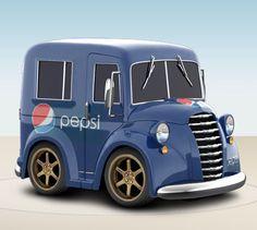 pepsi toys - Google Search Coca Cola, Diet Pepsi, Dr Pepper, Toy Trucks, Fun Drinks, Vintage Advertisements, Retro, Toys, Google Search