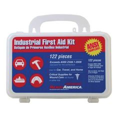 Visit The Home Depot to buy Ready America Pieces Industrial First Aid Kit 74016 Camping Needs, Car Buying Tips, Rv Parts, Learning To Drive, Industrial, Car Finance, Car Advertising, Camping World, Band Aid