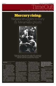 JT On Sunday TimeOut section. Mercury rising: Niigata struggles to bury Minamata ghosts. June, 14, 2015
