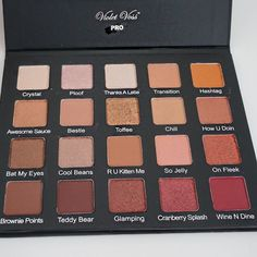 Thanks a latte and ploof are my favorite two shades of this pallet, whats yours cause this pallet slays