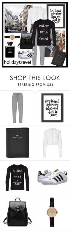 """""""Dead Legacy: Women's Travelling Style"""" by dead-legacy ❤ liked on Polyvore featuring moda, Americanflat, FOSSIL, Carolina Herrera, De la Crème, adidas Originals, Barbour y deadlegacy"""