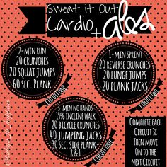 Cardio  ABS. treadmill workout. ab workout  http://instagram.com/haleya_fit_happens