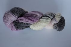 I love this one! Hand dyed sock weight yarn by Arctickrafts on Etsy