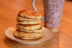 Pancakes Pancakes, Sans Gluten Sans Lactose, Mousse, Breakfast, Food, Pancake Ideas, Sunday Morning, Recipes, Morning Coffee
