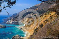 Coast of California, USA, near Big Sur.