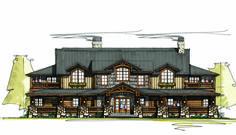 Plan 18731CK - Five Bedroom Suites 5,198 HEATED S.F. 5 BEDS 6 BATHS 2 FLOORS 2 CAR GARAGE
