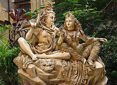 Lord Shiva & Parvati(Devi Durga) by Neo_26_regularly irregular, via Flickr…