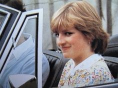 July 12, 1981: Lady Diana Spencer with Prince Charles at a polo match at the Cowdray Park Polo Club in Midhurst, West Sussex, England.