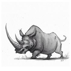 rhino ★ || CHARACTER DESIGN REFERENCES (www.facebook.com/CharacterDesignReferences & pinterest.com/characterdesigh) • Love Character Design? Join the Character Design Challenge (link→ www.facebook.com/groups/CharacterDesignChallenge) Share your unique vision of a theme every month, promote your art and make new friends in a community of over 25.000 artists! || ★