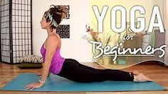 yoga stretches for back pain  sciatica relief - beginners flexibility for men  women - YouTube