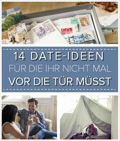 Date-Ideen, für die ihr nicht mal vor die Tür müsst