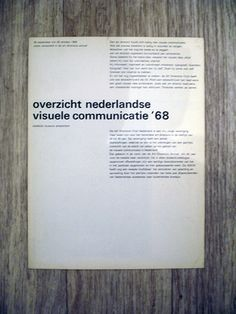 Visuele communicatie '68 by insect54, via Flickr