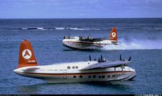 """""""The holiday we wanted to have."""" KB Old photo of the Sandringham flying boats which Ansett Airlines used prior to the building of the airstrip on Lord Howe Island (Australia) Airplane Flying, Flying Boat, Short Sunderland, Australian Airlines, Amphibious Aircraft, Australia Tourism, Float Plane, Automobile, Airlie Beach"""