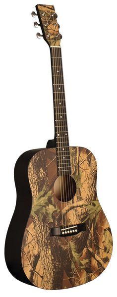 Who One use this nice acoustic Guitar? Indiana Texture Top Camo 6-String Dreadnought Acoustic Guitar.