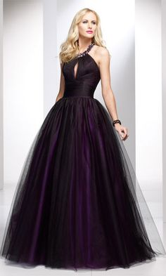 Black dresses are hard to make unique, but I can say that I have never seen a black dress like this!