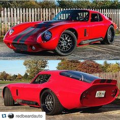 """Peter Newell on Instagram: """"65 Daytona Coupe I did for #littlefieldcustoms 820hp LS3 #carbonceramicbrakes #whipplesuperchargers #ls3 #ferrarired #protouring…"""""""