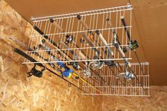 fishing rod storage  - Nature Walkz