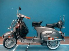 Vespa PTS Vespa Motor Scooters, Vespa Motorcycle, Lambretta Scooter, Vintage Vespa, Vintage Bikes, Vespa Smallframe, Classic Vespa, Italian Scooter, Concept Motorcycles