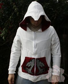 Awesome Assassin's Creed hoodie jacket is awesome.