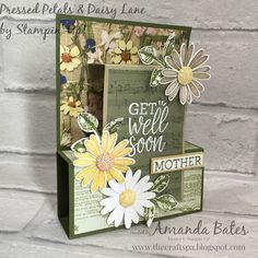 The Craft Spa - Stampin Up! UK independent demonstrator - Order Stampin Up in UK: Fancy Fold Friday Tutorial - A6 (ish) Pop Up Front Step Panel Card
