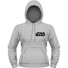 Star Wars Chewie Official Womens New Grey Skinny Fit Pullover Hoodie