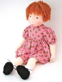 Cara - Aldegonde Ceelen handmade cloth doll