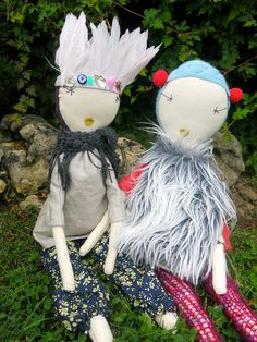 Jess Brown dolls