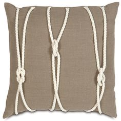Nautical Yacht Knots Pillow from PoshTots