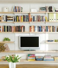 http://www.gardenista.com/posts/10-easy-pieces-wall-mounted-shelving-systems-