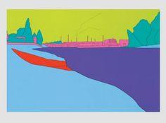 Deconstructing Seurat - Michael Craig Martin Michael Craig, Josef Albers, Mark Making, Graphics, Artists, Gallery, Painting, Graphic Design, Artist