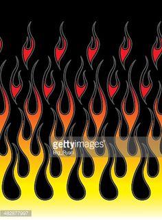 pinstriped-hot-rod-flames-vector-id482877997 (355×484) Halloween Yard Art, Flame Tattoos, Motorcycle Paint Jobs, Flame Art, Helmet Paint, Garage Makeover, Custom Paint Jobs, Bead Loom Patterns, Car Painting