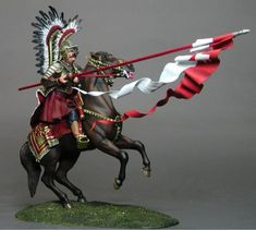 M-Model 90003 Polish Hussar Vienna 1683 Polish Tattoos, Thirty Years' War, Fantasy Battle, Renaissance Era, Military Figures, Fantasy Pictures, American Revolution, Antique Prints, Pictures To Paint