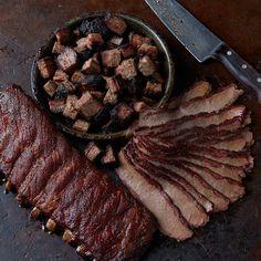 Ribs, Brisket & Burnt Ends Pork Spare Ribs, Bbq Ribs, Kansas City Bars, Brisket Burnt Ends, Best Food Gifts, Delicious Destinations, Smoked Beef Brisket, Bar B Que, Best Bbq