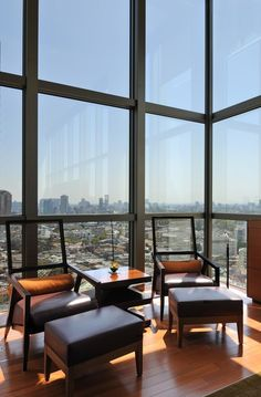 Check out this view from Grand Hyatt Tokyo's Presidential Suite!