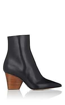 Tivoli Leather Ankle Boots