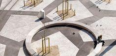 Neugestaltung Tessiner Platz by Kuhn-Truninger; Location: Zurich, Switzerland