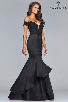 Faviana 10103 - Formal Approach Prom Dress